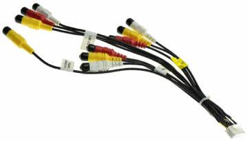 Kenwood DDX8034BT DDX 8034BT DDX8034BT AV Lead  AV In and Out Rca Lead